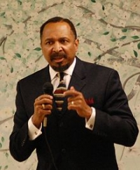 "Bishop E W Jackson,  Game changer to get blacks off  of voting for democrats, who are, ""Anti - Family/ Marriage/ God"""